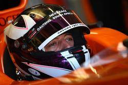 Dennis Retera, driver of A1 Team Netherlands