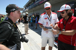 Hubertus Bahlsen Driver of A1 Team Monaco