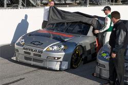 Hendrick Motorsports' 25th anniversary season car unveiling event: Dale Earnhardt Jr. unveils his car