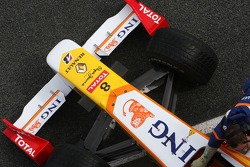 Renault F1 Team, R29, detail