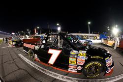 Le truck Chevrolet de J.R. Fitzpatrick sur la grille de départ