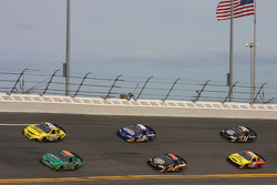 Carl Edwards, Brian Vickers, David Reutimann, Mike Bliss, Michael Annett and Tony Raines