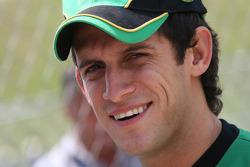 Christiano Morgado, driver of A1 Team South Africa