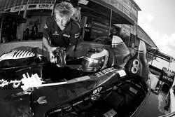 David Brabham gets ready to go on track