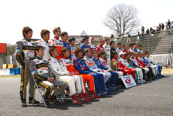 GT500 drivers group photo