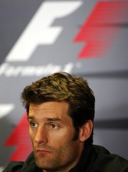 Conférence de presse FIA: Mark Webber, Red Bull Racing