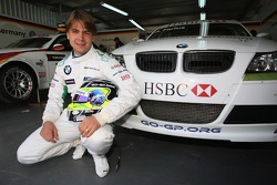 Augusto Farfus, BMW Team Germany with the new sponsor go-gp.com