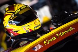 Helmet of Kevin Harvick, Richard Childress Racing Chevrolet