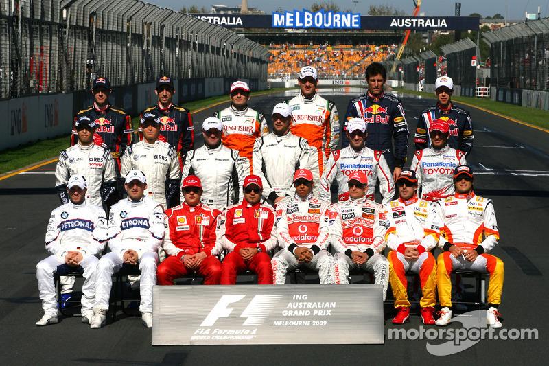 Пилоты Формулы 1 сезона-2009