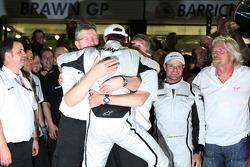 Ross Brawn Brawn GP Team Principal, Jenson Button, Brawn GP, Nick Fry, BrawnGP, Chief Executive Officer