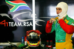 Adrian Zaugg, pilote de A1 Equipe de l'Afrique du Sud