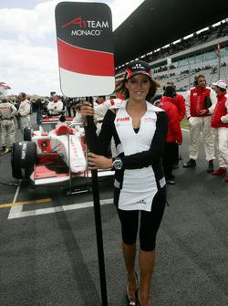 Clivio Piccione, driver of A1 Team Monaco