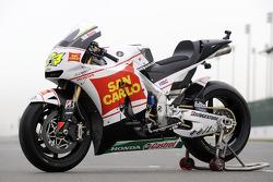 San Carlo Honda Gresini bike