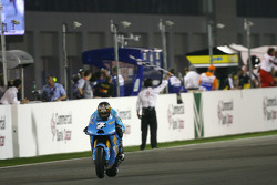 Chris Vermeulen, Rizla Suzuki MotoGP takes the checkered flag for the 7th place