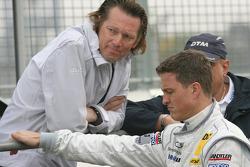Hans-Jürgen Mattheis, Teammanager HWA Mercedes and Ralf Schumacher, Team HWA AMG Mercedes C-Klasse