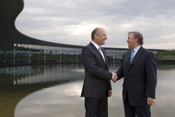 Ron Dennis, Executive Chairman of McLaren Automotive, and Richard Lapthorne, Non-Executive Chairman
