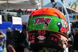 Helmet of Alex Tagliani, Conquest Racing