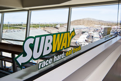 Subway Fresh Fit 500 NASCAR Sprint Cup Series event signage
