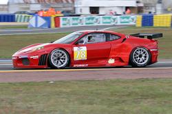 #78 Advanced Engineering Ferrari F430 GT: Don Kinch, Joe Foster, Patrick Dempsey
