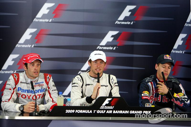 Conferencia de prensa FIA: Jenson Button, Brawn GP ...