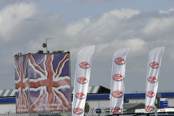 Flags at Silverstone