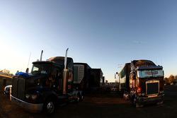 V8 Supercars trucks
