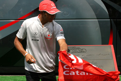 Lewis Hamilton, McLaren Mercedes honoured at the Circuit de Catalunya