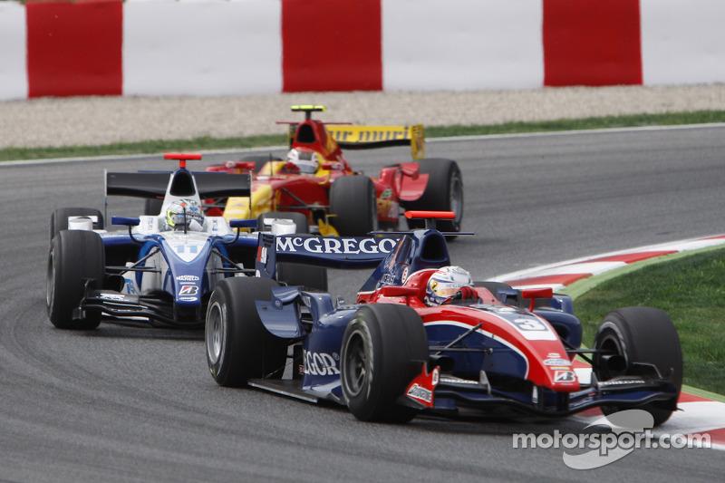 Giedo Van der Garde lidera a Sergio Pérez, Arden International