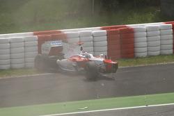 Crash de Jarno Trulli, Toyota F1 Team