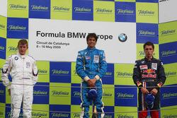 Posium, Michael Christensen, Muecke Motorsport, Luiz Felipe Nasr, Eurointernational and Daniel Juncadella, Eurointernational