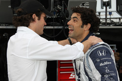 Raphael Matos, Luczo Dragon Racing with Luczo Dragon Racing team co-owner Jay Penske