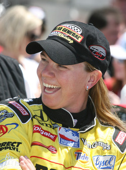 Sarah Fisher, Sarah Fisher Racing celebrates qualifying