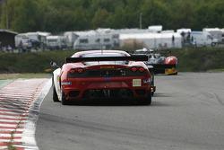 #91 FBR Ferrari F430 GT: Gabrio Rosa, Andrea Montermini, Giacomo Petrobelli