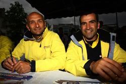 Gabriele Tarquini, Seat Sport, Seat Leon 2.0 TDI and Jordi Gene, Seat Sport, Seat Leon 2.0 TDI