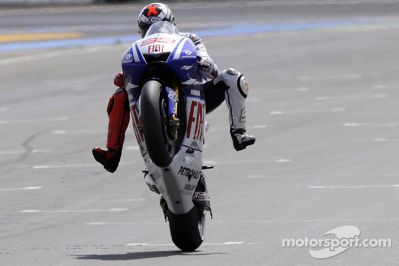 2009 : Jorge Lorenzo (Yamaha YZR-M1)