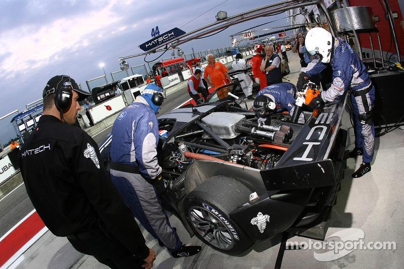 #44 Matech GT Racing Ford GT: Thomas Mutsch, Thomas Biagi