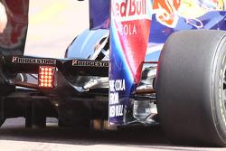 Rear Diffuser of Sebastian Vettel, Red Bull Racing