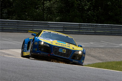 #98 Phoenix Racing Audi R8 LMS: Hans Stuck, Frank Biela, Emanuele Pirro