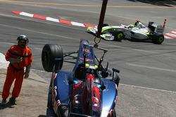 Sebastien Buemi, Scuderia Toro Rosso crashes