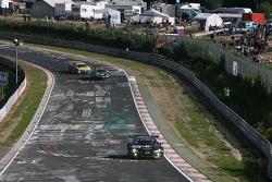 #97 Team Abt Sportsline Audi R8 LMS: Christian Abt, Jean-François Hemroulle, Pierre Kaffer, Lucas Luhr
