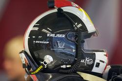 Helmet of Tom Kristensen, Audi Sport Team Abt