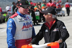 Paul Tracy and Rick Mears