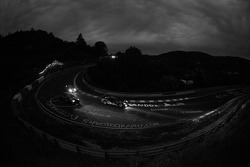 Night race action at Wehrseifen