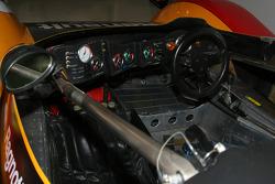 Le cockpit d'une Renault Alpine A442B de 1978