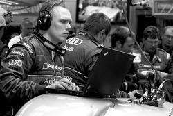 Audi Sport team member at work