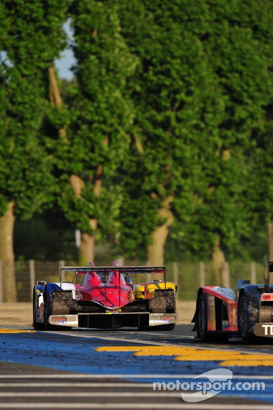 #11 Team Oreca-Matmut-AIM Oreca 01 AIM: Nicolas Lapierre, Olivier Panis, Soheil Ayari