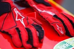 Les gants de course