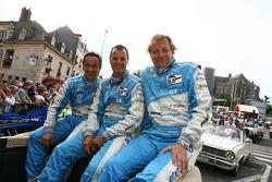 Alex Müller, Lukas Lichtner-Hoyer and Thomas Gruber