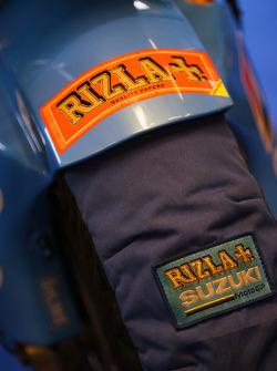 Calentador de neumático de Rizla Suzuki MotoGP