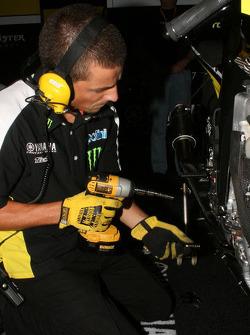 Monster Yamaha Tech 3 team member at work